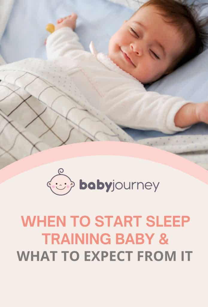 When to Start Sleep Training Baby & What to Expect From It | Baby Journey