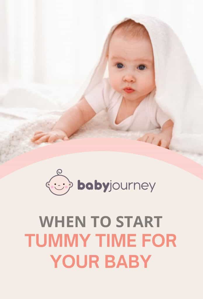When to Start Tummy Time for Your Baby | Baby Journey