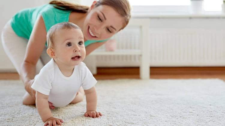 Tummy time helps your baby get ready for crawling. - When to Start Tummy Time for Your Baby | Baby Journey