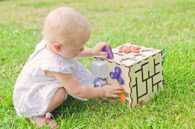 Activity Cube | First Birthday Gift Ideas for Girl | Baby Journey