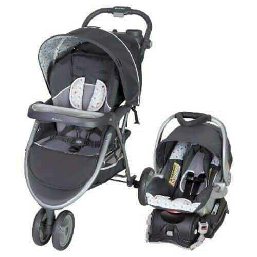 The Baby Trend Ez Flex-Loc is fully compatible with Baby Trend strollers. - Baby Trend EZ Flex-Loc Plus Infant Car Seat Review | Baby Journey