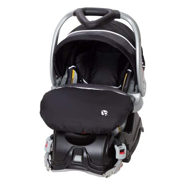 A cozy boot to keep your baby warm in the cold.- Baby Trend EZ Flex-Loc Plus Infant Car Seat Review | Baby Journey
