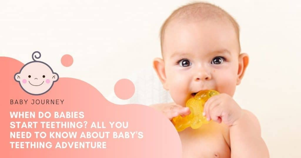 when do babies start teething featured image
