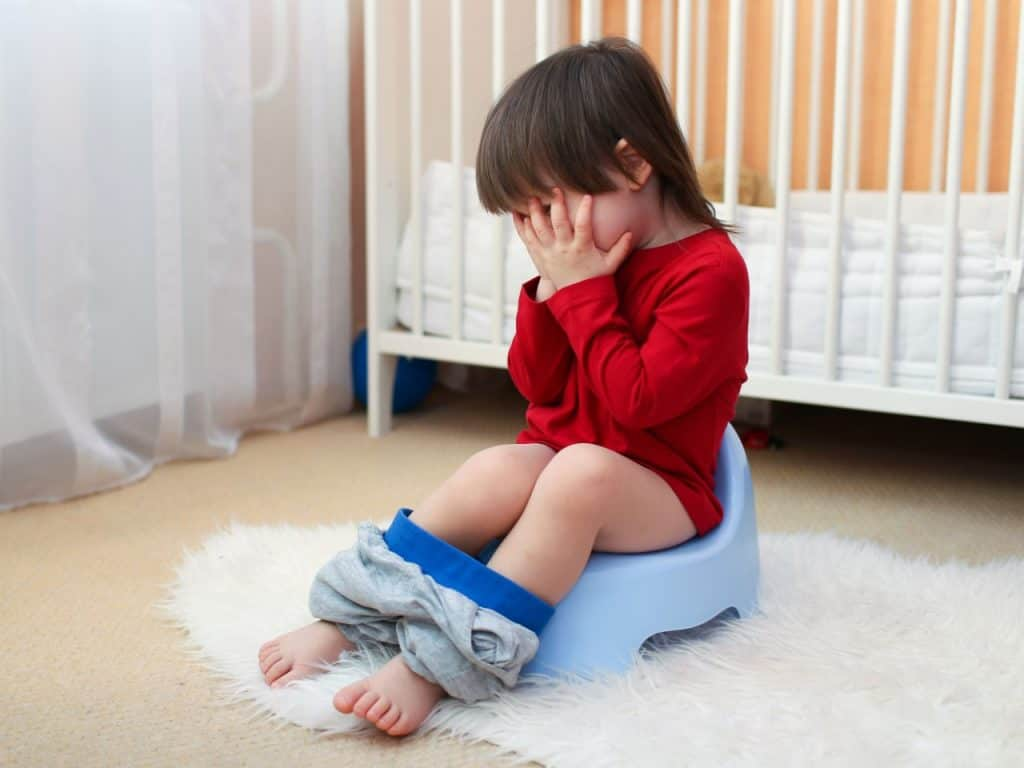 Don't rush things when the child isn't ready. It can be counterproductive and make the baby hate potty and willingly refusing to use it. - When to Start Potty Training | Baby Journey