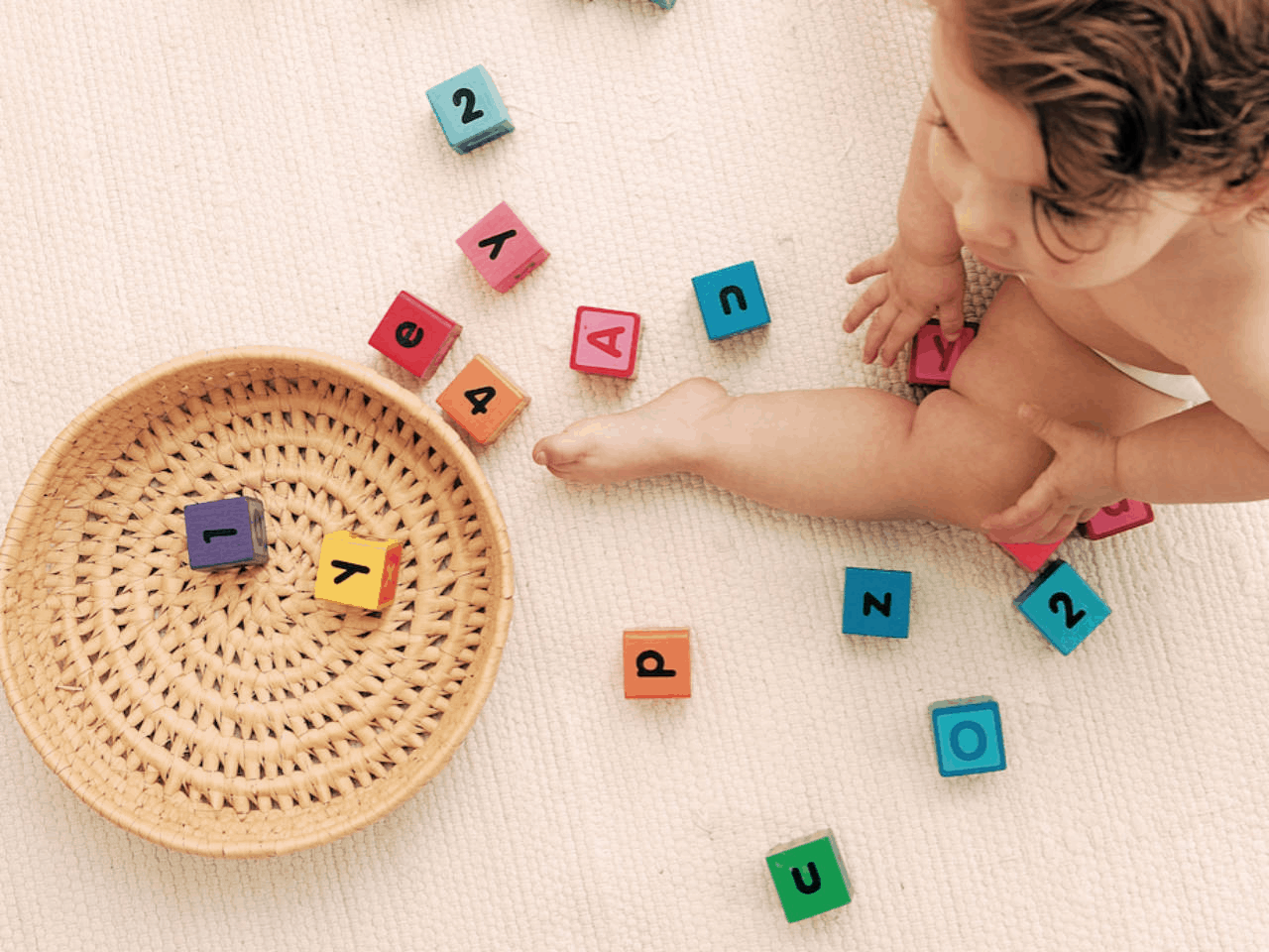 Children won't feel overwhelmed when the goals are breaking down into small and manageable. -7 Effective Ways to Get Toddlers Cleaning Up Toys   Baby Journey