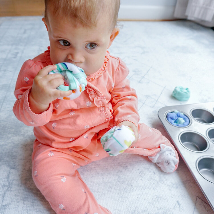 Frozen Washcloths | Home Remedies for Teething | Baby Journey