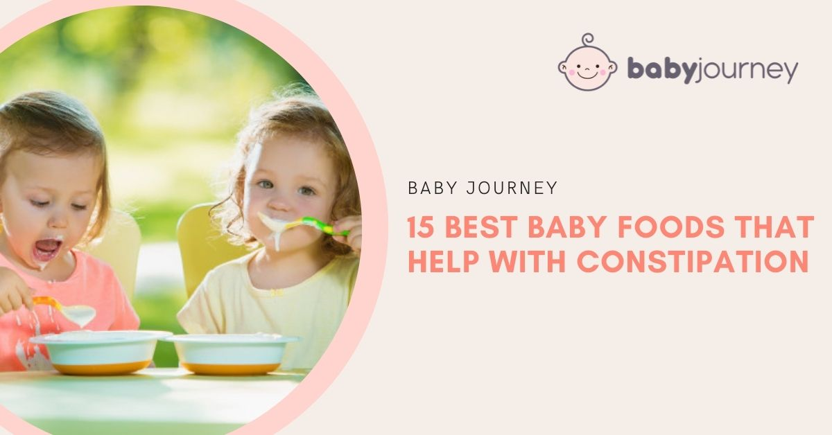 Baby Food That Help with Constipation | Baby Journey