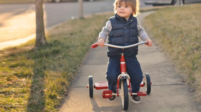 Tricycle Riding | Outdoor Toys for Toddlers | Baby Journey