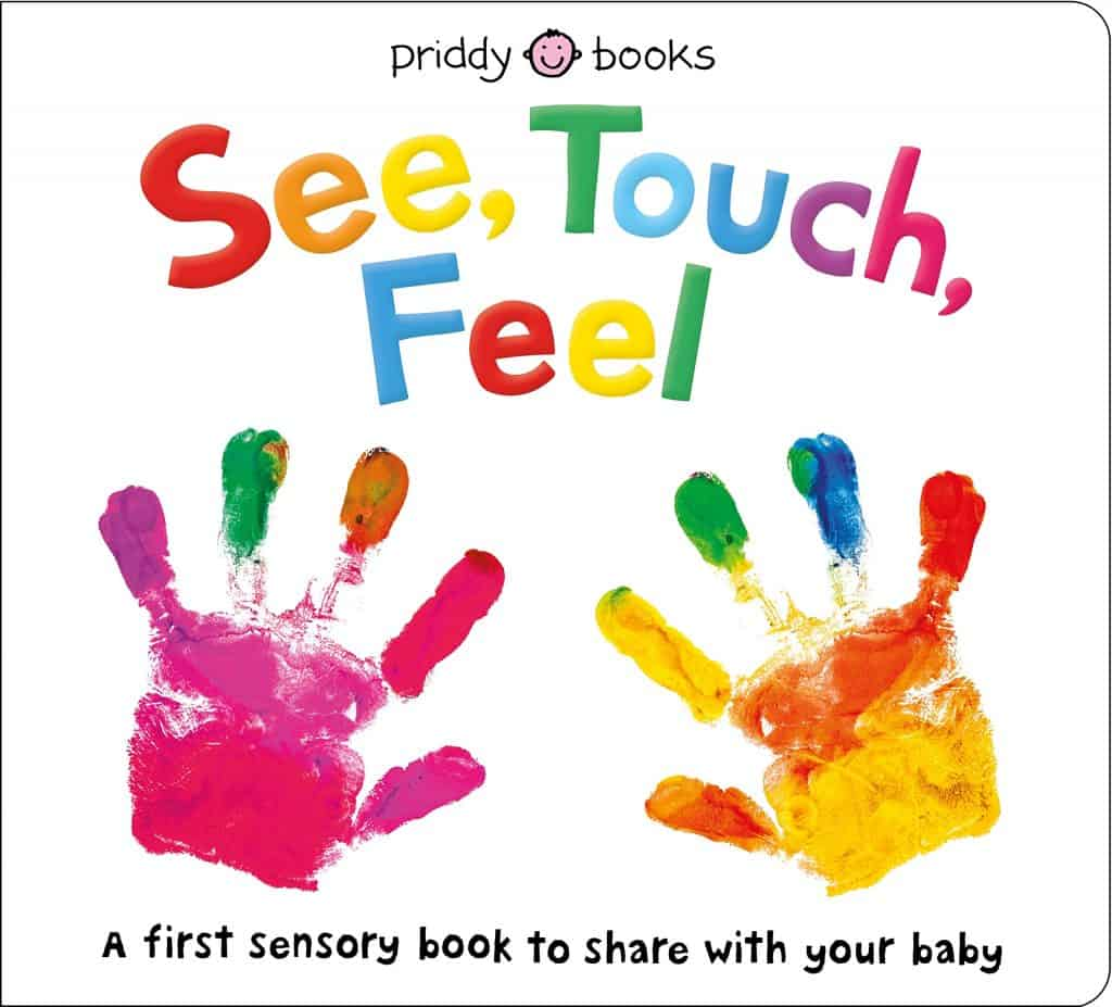 See, Touch, Feel: A First Sensory Book   Montessori Toys for Babies   Baby Journey