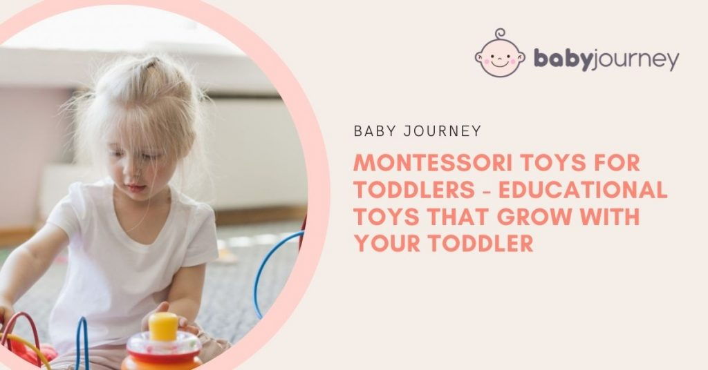 Montessori Toys for Toddlers   Baby Journey
