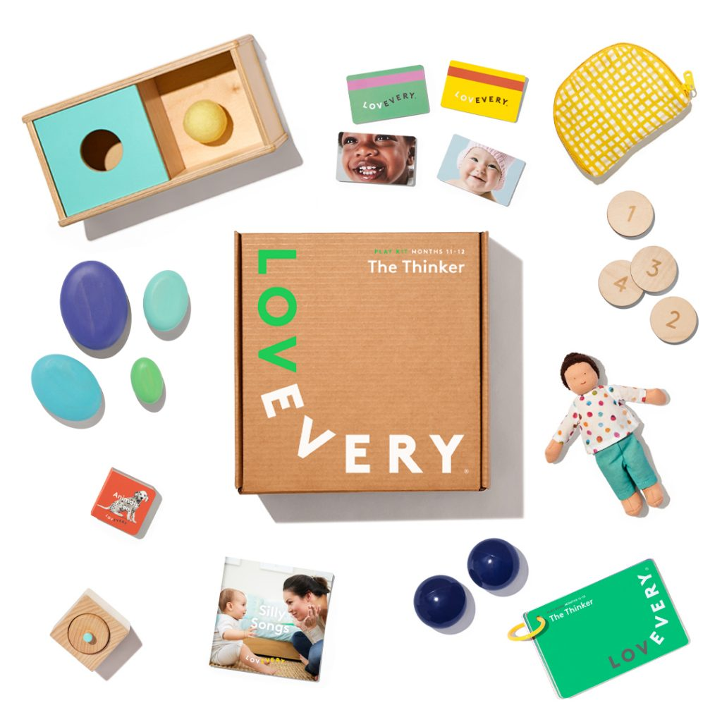 Lovevery Thinker Box Kit | Montessori Toys for 1 Year Old | Baby Journey