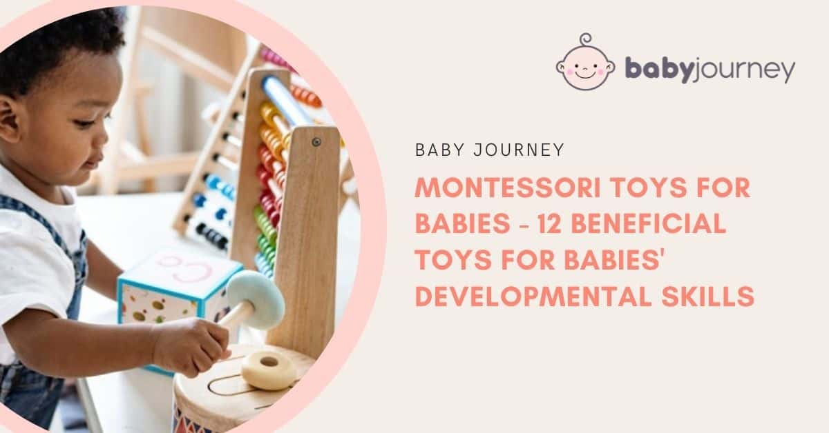 Montessori Toys for Babies | Baby Journey