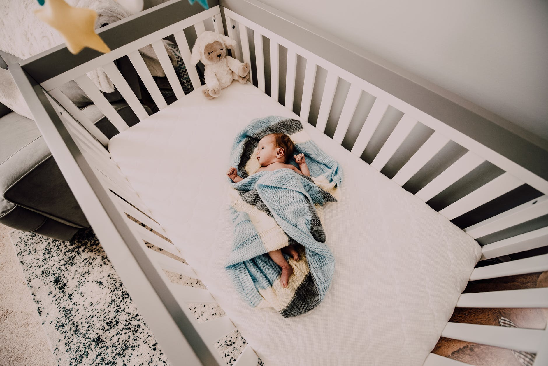 Choosing a firm and safe crib mattress is vital | How to Pick a Crib Mattress | Baby Journey