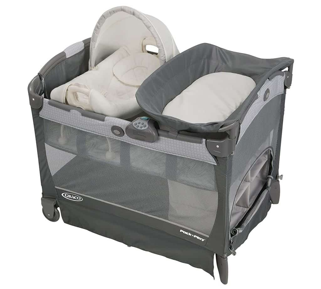 Graco Pack 'n Play Playard with Cuddle Cove | Best Pack n Play With Bassinet | Baby Journey