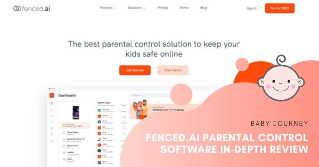 Fenced.ai Parental Control Software In-Depth Review   Baby Journey