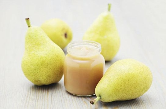 Sweet Pears for Strong Babies   A Parent's Guide to The 15 Baby Foods That Cause Gas in Babies   Baby Journey