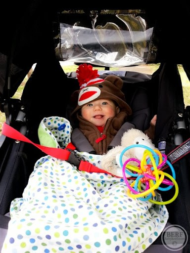 Tie Toys to the Straps for Entertainment.- 45 Awesome Stroller Hacks for A Stress-Free Outing with Baby   Baby Journey Blog
