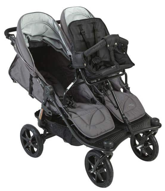 Valco Baby Trio Mode Duo X, our best overall triple jogger. - Best Triple Jogging Stroller Review   Baby Journey
