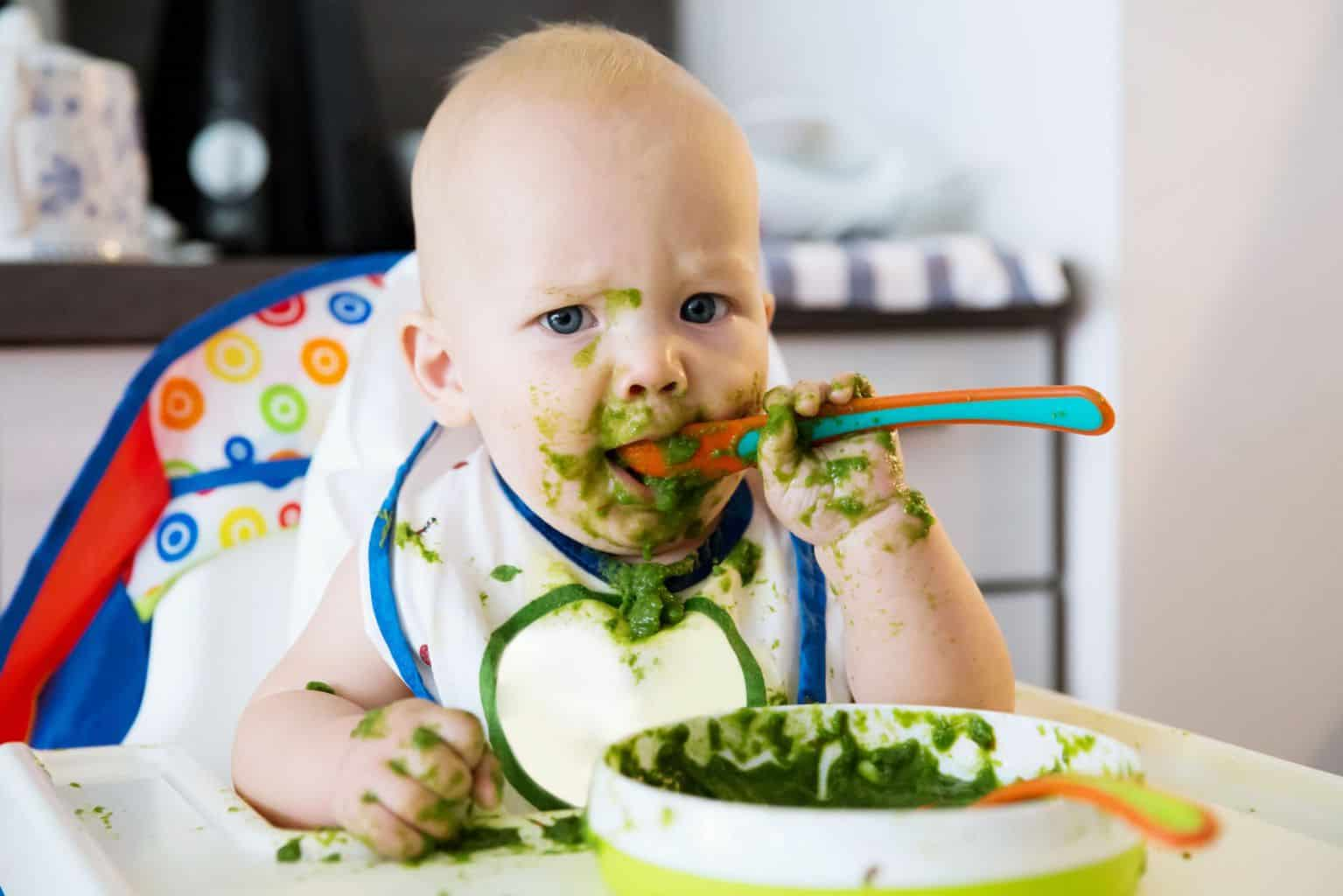 There is a reason why children hate spinach    A Parent's Guide to The 15 Baby Foods That Cause Gas in Babies   Baby Journey