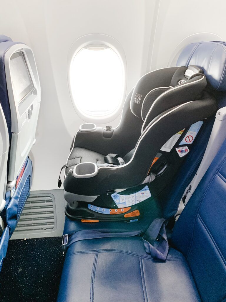 Pre-boarding allows you to settle in before other passengers come on board. - Gate Checking Car Seat and Stroller | Baby Journey
