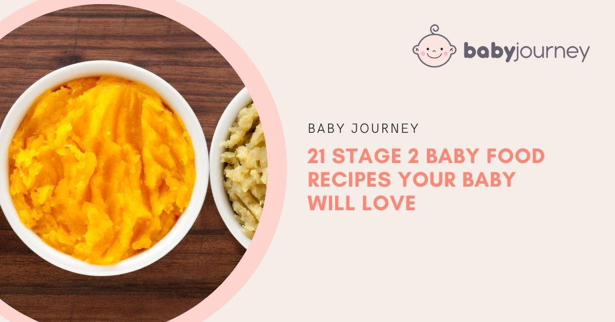 21 Stage 2 Baby Food Recipes Your Baby Will Love | Baby Journey