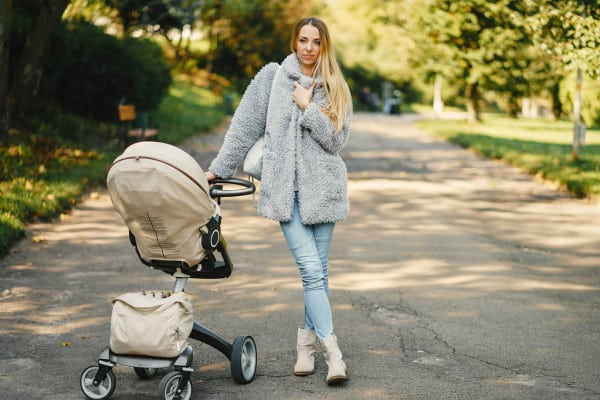 Carrying everything in a bag can be messy and heavy, and a stroller organizer keeps everything you need within easy reach. - Top 13 Parent-approved Best Stroller Accessories Ideas | Baby Journey