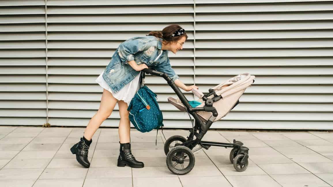 Mom's bags can be heavy, so it is more practical to hook them up on the stroller. - Top 13 Parent-approved Best Stroller Accessories Ideas | Baby Journey