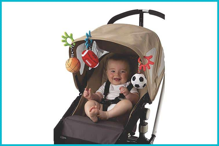 Babies spend a lot of time in strollers from an early age, so it is important to make them entertained and comfortable as much as possible. - Top 13 Parent-approved Best Stroller Accessories Ideas | Baby Journey