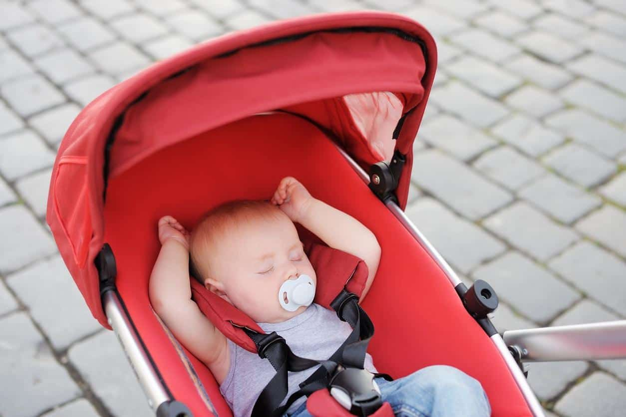 Babies are at higher risk of hyperthermia than adults, so it is important to keep them cool and avoid going outside during the hottest parts of the day. - Top 13 Parent-approved Best Stroller Accessories Ideas | Baby Journey