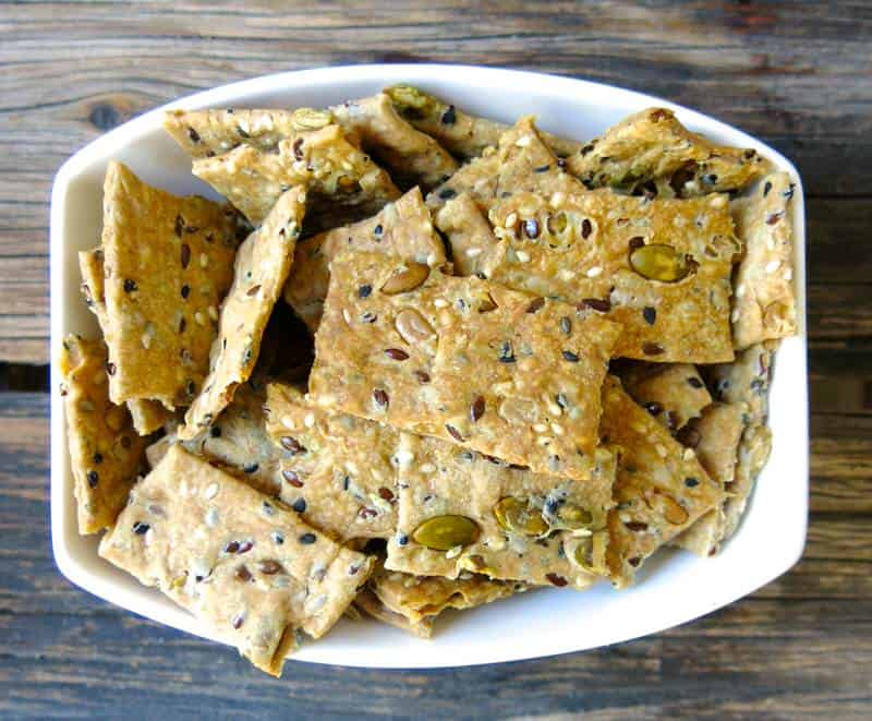 Homemade Crackers | 21 Easy Healthy Snacks for Toddlers | Baby Journey