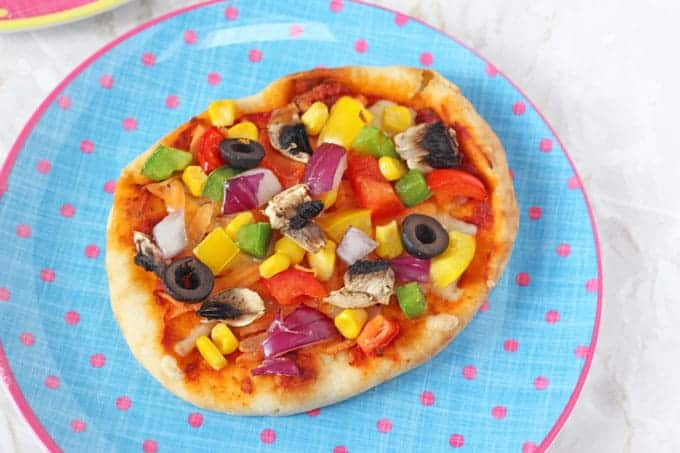 Homemade Pizza | 21 Easy Healthy Snacks for Toddlers | Baby Journey