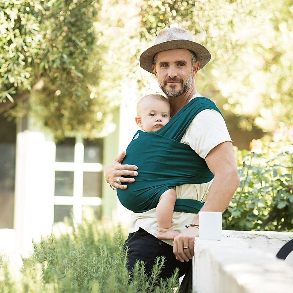 Boba and Moby baby wrap sizes comfortably fit both mom and dad. - Moby vs. Boba Wrap: Which is the Better Baby Carrier? - Baby Journey Blog