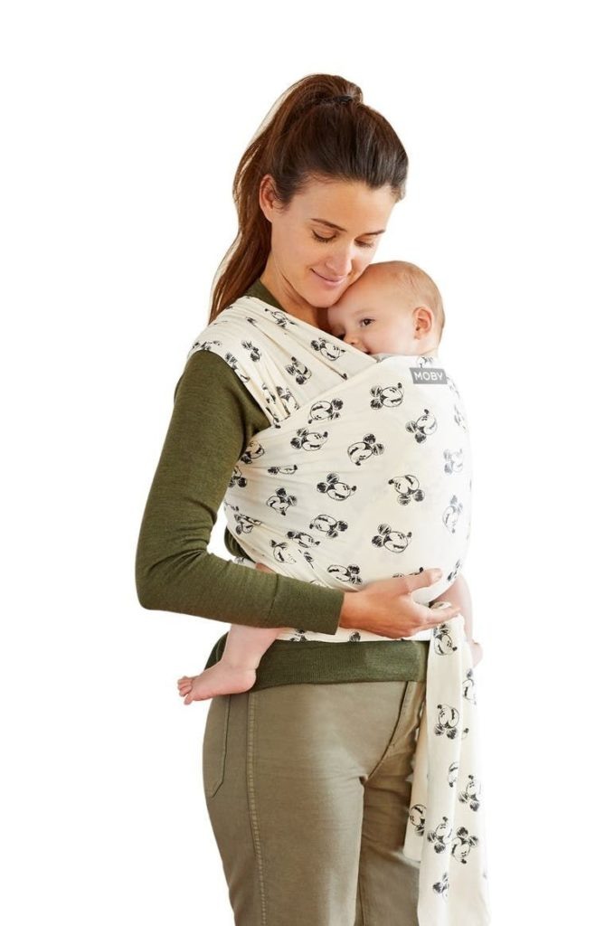 Moby Disney is child-oriented but still trendy and fun.- Moby vs. Boba Wrap: Which is the Better Baby Carrier? - Baby Journey Blog