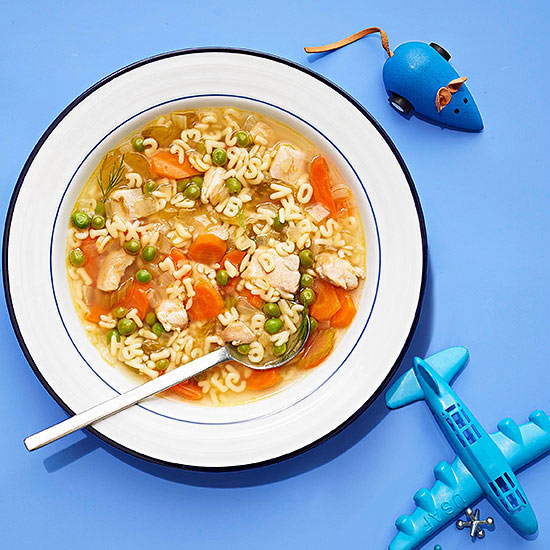 Alphabet soup - Stage 3 baby food recipes - Baby Journey Blog