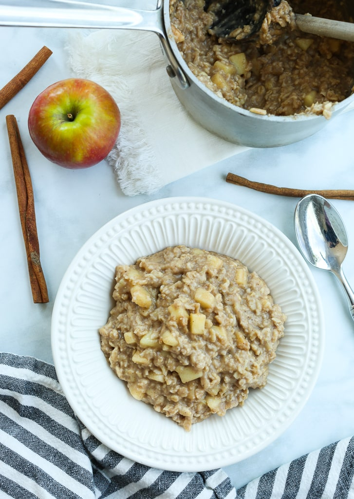 Apple and oatmeal - Stage 3 baby food recipes - Baby Journey Blog