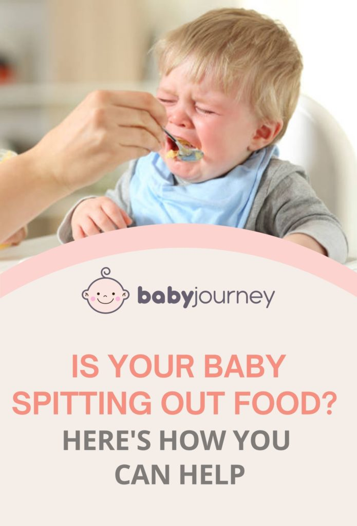 Is Your Baby Spitting Out Food? Here's How You Can Help | Baby Journey Blog