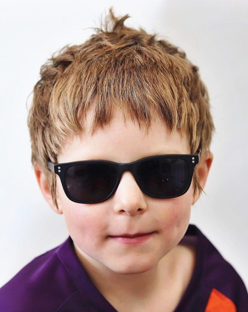 Fringe. - 10 All-Time Popular Toddler Boy Haircuts | Baby Journey