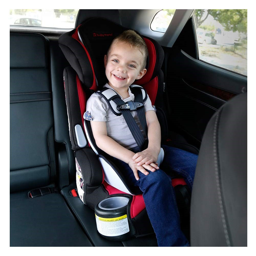 Toddler in car seat   Baby Trend Hybrid 3 in 1 Review   Baby Journey