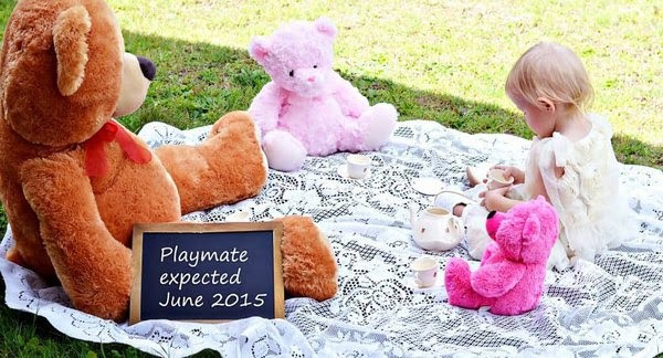 New Playmate!- 112 Baby Announcement Ideas Perfect to Grace Your Instagram | Baby Journey Blog