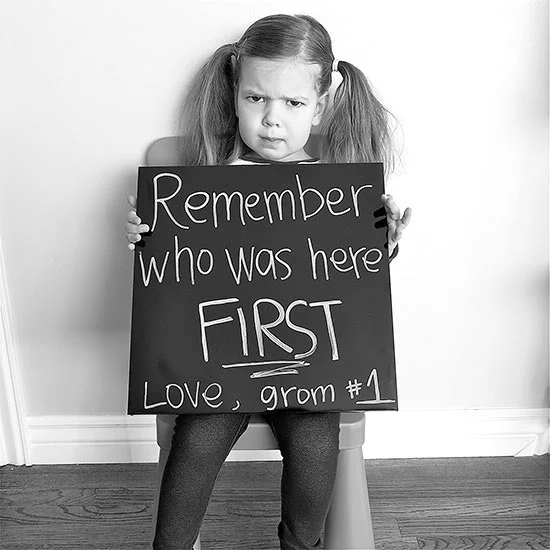 Don't Forget Who Was First! - 112 Baby Announcement Ideas Perfect to Grace Your Instagram | Baby Journey Blog