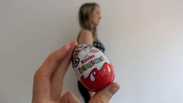 Kinder Surprise - 112 Baby Announcement Ideas Perfect to Grace Your Instagram | Baby Journey Blog