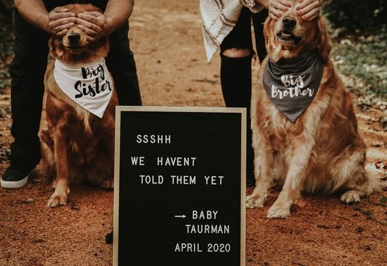 Shhh... - 112 Baby Announcement Ideas Perfect to Grace Your Instagram | Baby Journey Blog