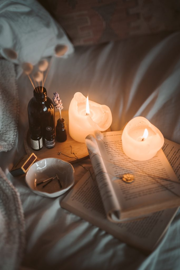 Taking up a pre-bed ritual like reading a book with scented candles will help improve your sleep onset helping stop the dreams about dead babies.  - Dream Interpretation Sign For Adult - Baby Journey blog