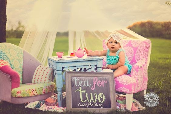 Tea for Two- 112 Baby Announcement Ideas Perfect to Grace Your Instagram | Baby Journey Blog