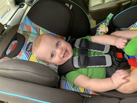 The Britax Boulevard Clicktight Convertible stays by your little one's side from their early days till toddlerhood - Britax Boulevard Clicktight Convertible Car Seat Review 2021 - Baby Journey blog