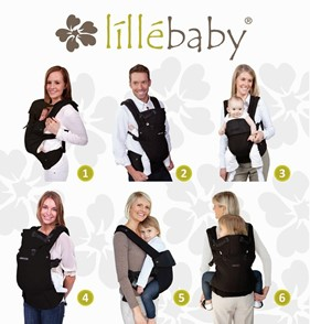 The Lillebaby Complete All Seasons allows for 360-degree babywearing - Lille Baby Carrier Review - Baby Journey blog