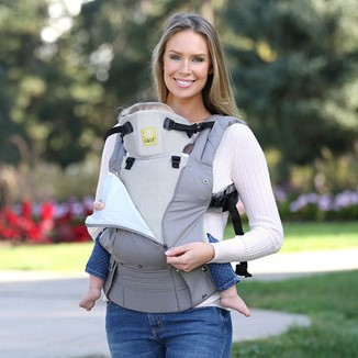 The Lillebaby Complete All Seasons stays by your child's side from their first day to toddlerhood - Lille Baby Carrier Review - Baby Journey blog