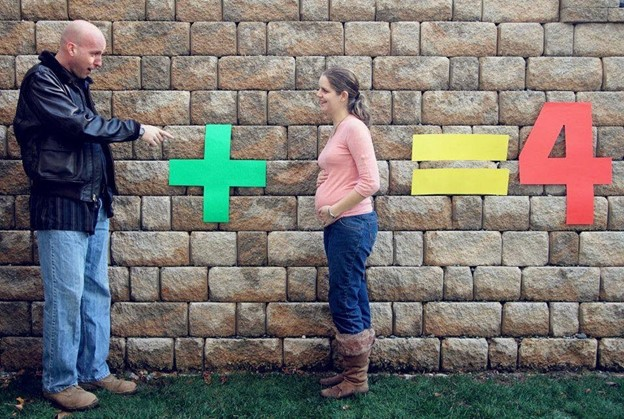The Weird Math - 112 Baby Announcement Ideas Perfect to Grace Your Instagram | Baby Journey Blog