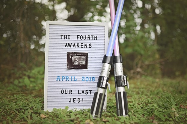 Ultimate Nerdy Pregnancy Announcement - 112 Baby Announcement Ideas Perfect to Grace Your Instagram | Baby Journey Blog