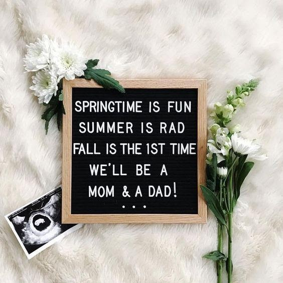 Use a Rhyme! - 112 Baby Announcement Ideas Perfect to Grace Your Instagram | Baby Journey Blog